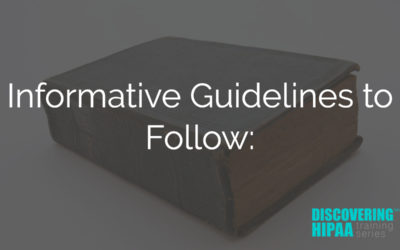 Informative Guidelines to Follow